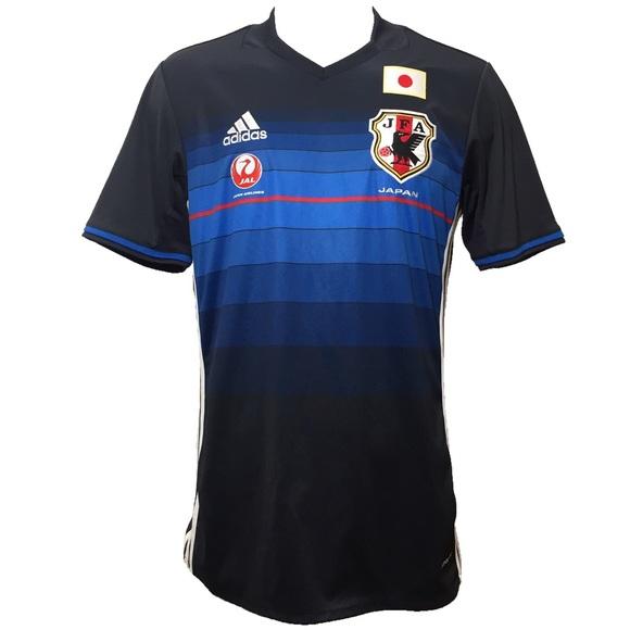 2d4955f9010 adidas Shirts | Mens Climacool Japan Jfa Soccer Jersey | Poshmark